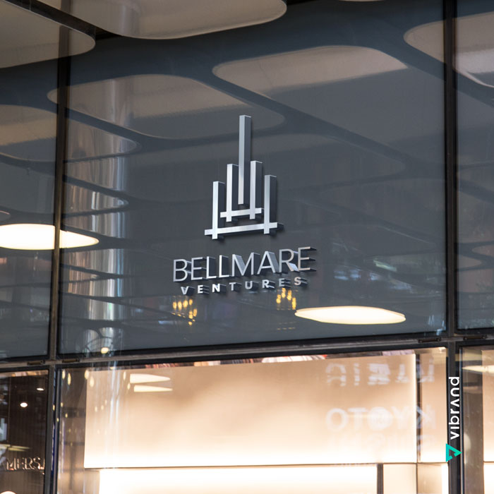 Vibrand Digital Solutions - Digital Marketing- Bellmare Corp Mockup Design - graphic design