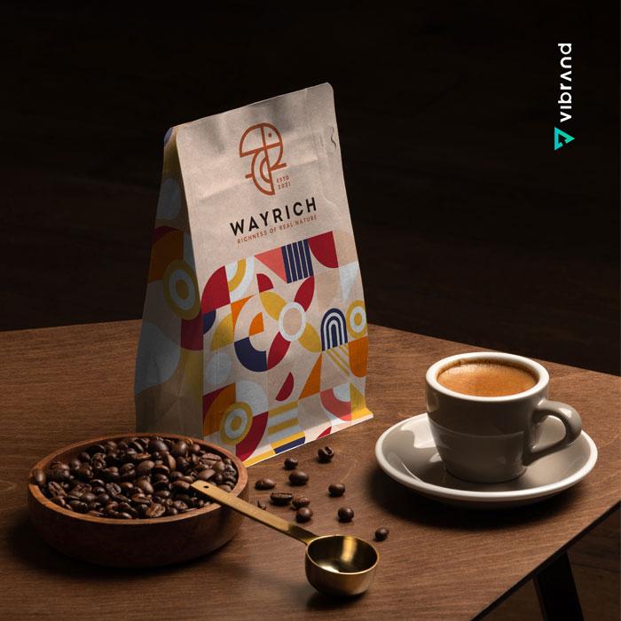 Vibrand Digital Solutions - Digital Marketing -WayRich Mockup Design - Branding
